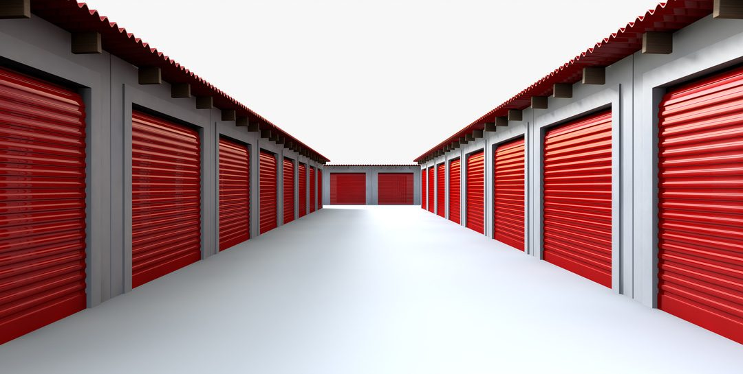 Moving and storage facility