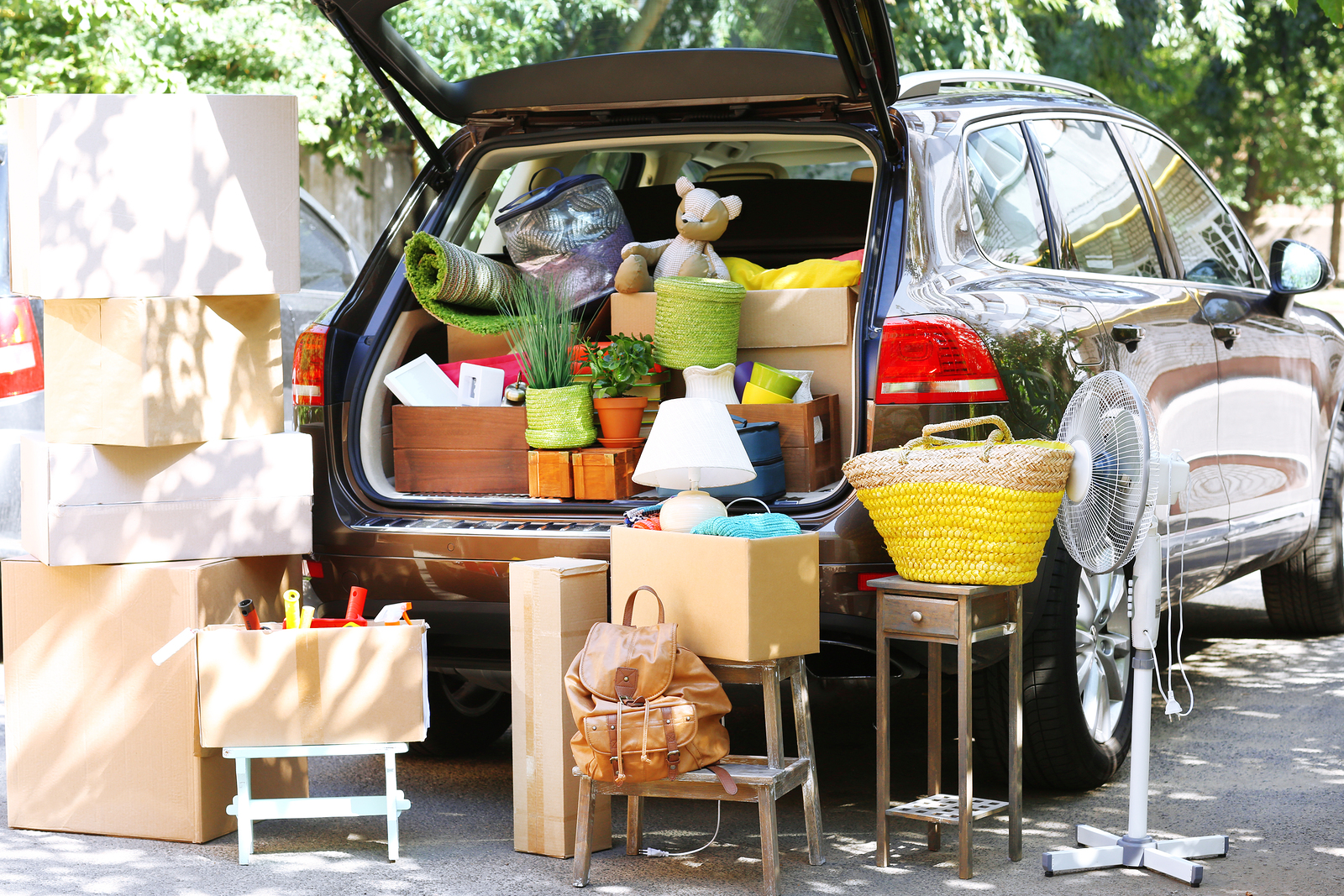 car packing tips