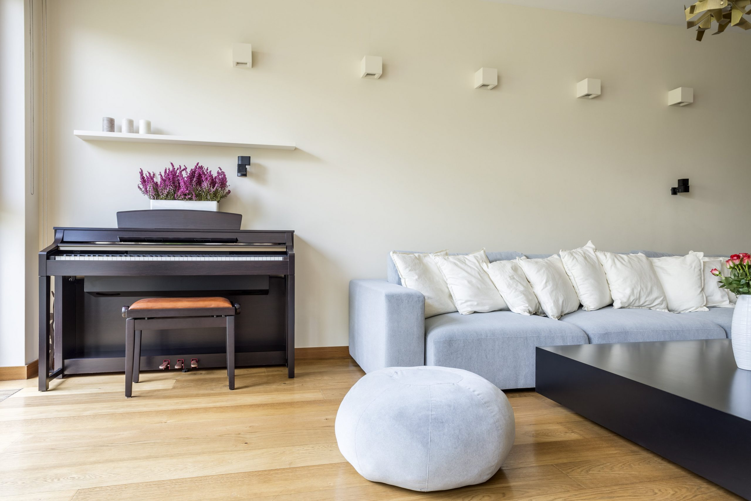 Fitting a Piano Into a Living Room