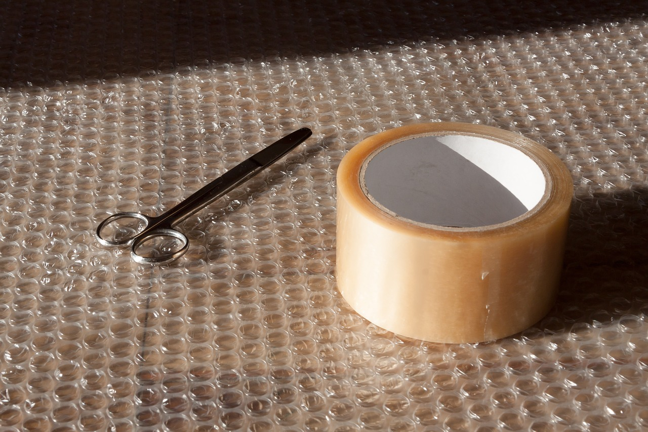 Bubble Wrap to Protect Valuables When Moving
