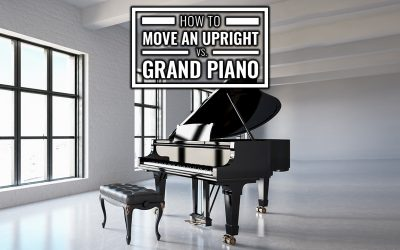 How to Move an Upright Vs. Grand Piano