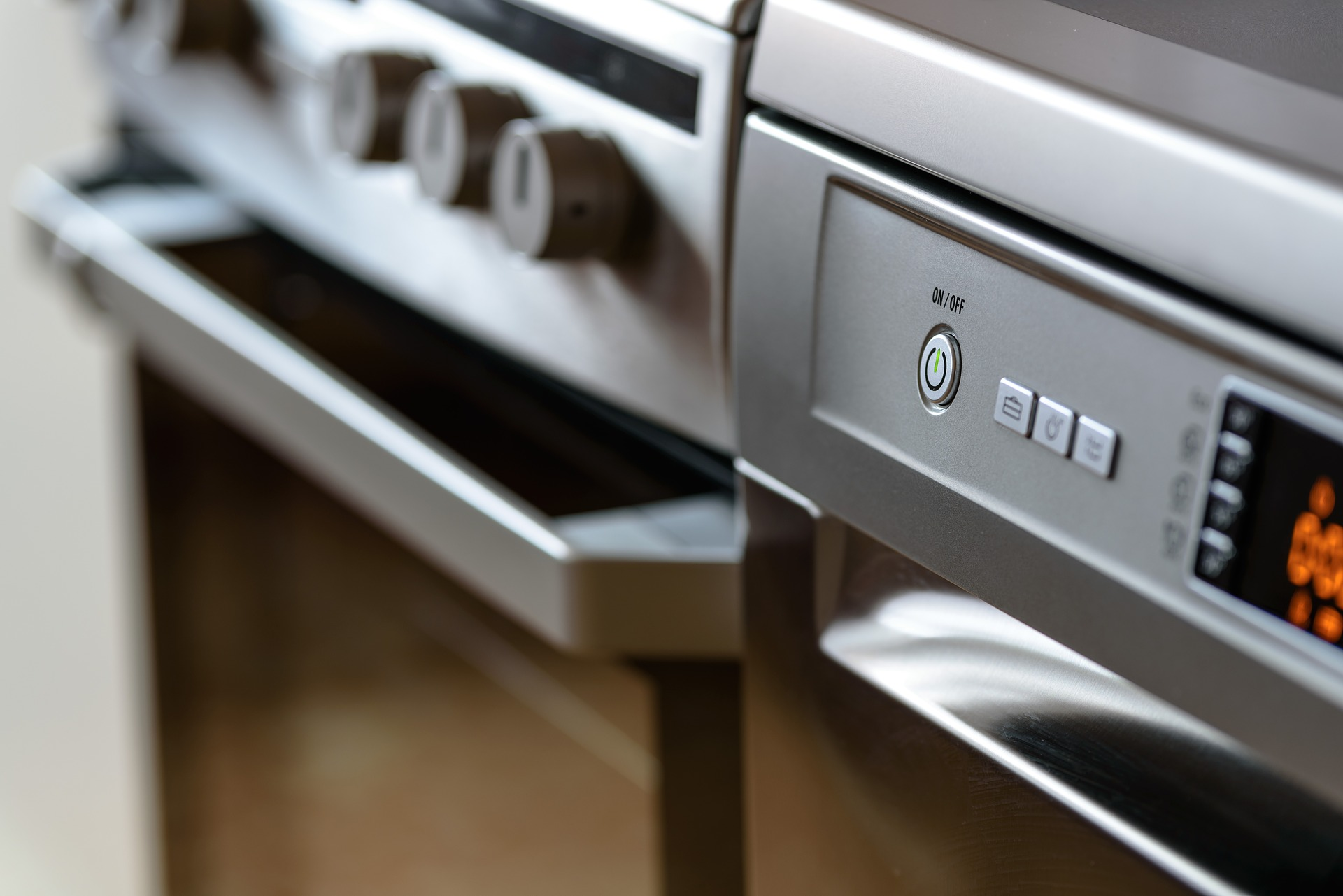 Moving heavy kitchen appliances