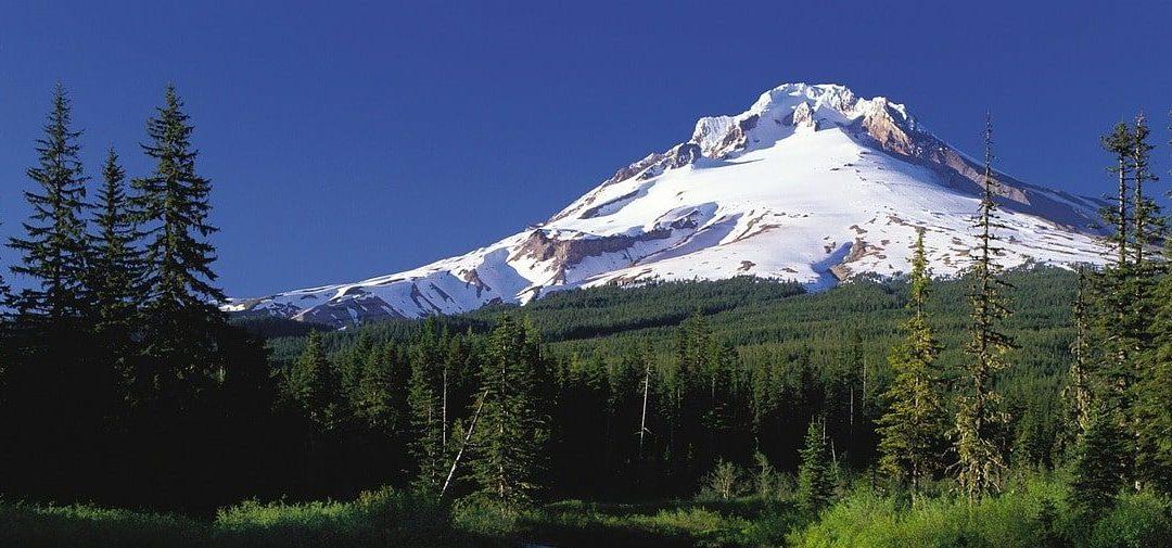 Mt Hood in Oregon
