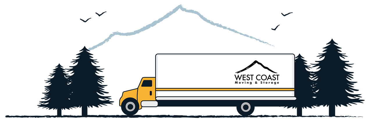 West Coast Moving and Storage graphic