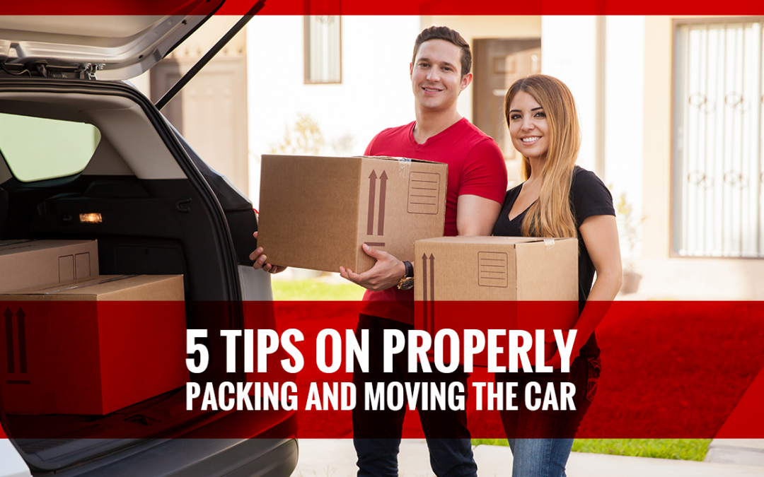 5 Tips on Properly Packing and Moving the Car
