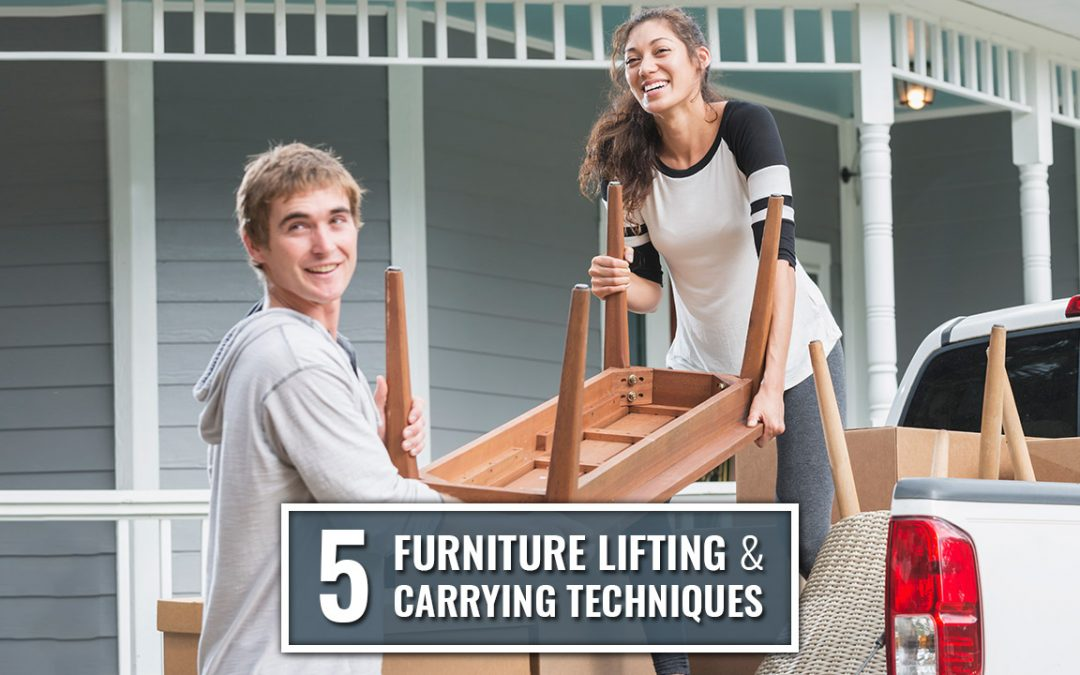 5 Furniture Lifting & Carrying Techniques