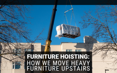Furniture Hoisting: How We Move Heavy Furniture Upstairs