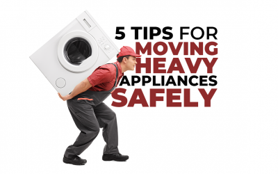 5 Tips for Moving Heavy Appliances Safely
