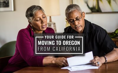 Your Guide for Moving to Oregon From California
