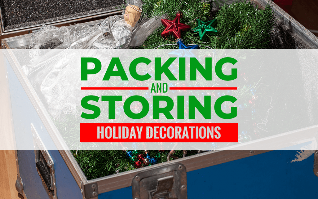 Packing and Storing Holiday Decorations