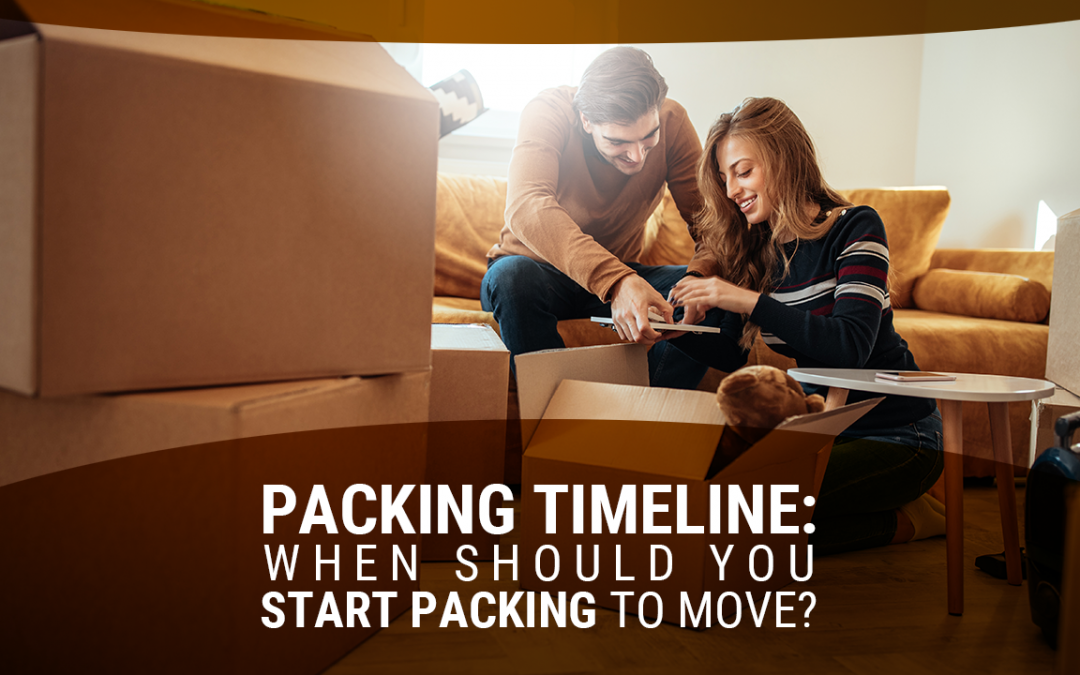 Packing Timeline: When Should You Start Packing to Move?