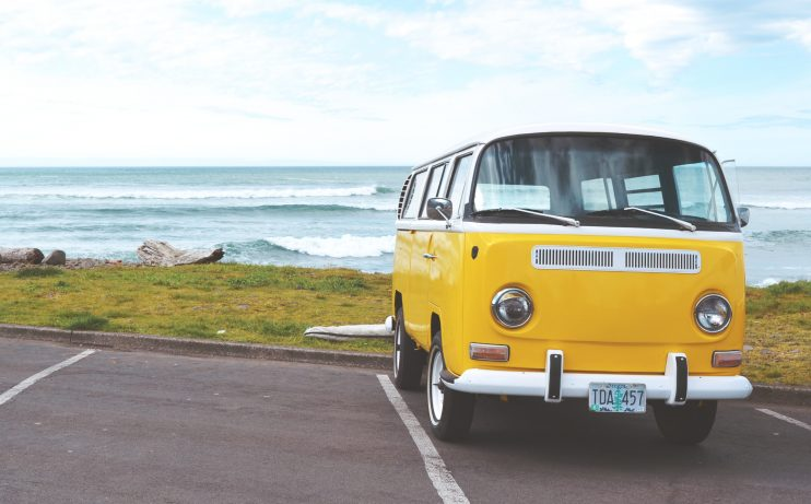 Yellow VW Bug on Beach   Top Reasons to Move to Seaside, Oregon [A Complete Guide]